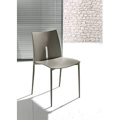 Ingenia Casa Lyra Chair in metal and polypropylene