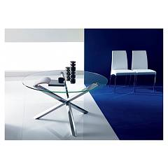 Ingenia Casa Trio Round extendible table d. 125