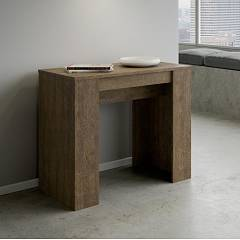 Itamoby Basic Console extensible 90x77x48 cm effet bois