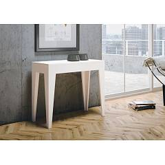 Itamoby Isotta Console extensible 90x77x42 cm effet bois