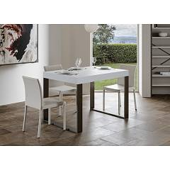 Itamoby Tecno Fix 130 Fixed table l. 130 x 90 - anthracite metal structure with wood effect top
