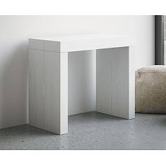 Itamoby Twist Extendable console 90x77x45 cm wood effect