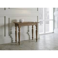Itamoby Bologna Console extensible 92x77x45 cm effet noyer