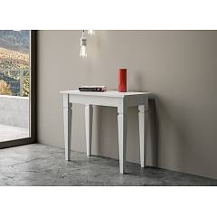 Itamoby Impero Console extensible 90x77x48 cm effet bois