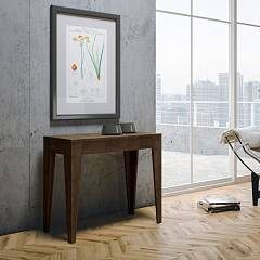 Itamoby Isotta Small Console extensible 90x77x42 cm effet bois