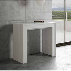 Itamoby Mia Small Console extensible 90x78x42 cm effet bois