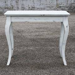 Itamoby Bassano Shabby Chic Console extensible 92x77x45 cm effet bois