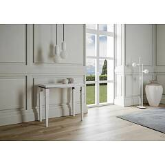Itamoby Impero Libra Opening console - metal frame with legs and wooden effect top
