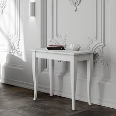 Itamoby Sciabola Small Console extensible 90x77x48 cm effet bois