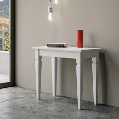 Itamoby Impero Small Console extensible 90x77x48 cm effet bois