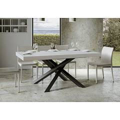 Itamoby Volantis Fix 160 Fixed table l. 160 x 90 - anthracite metal structure with wood effect top