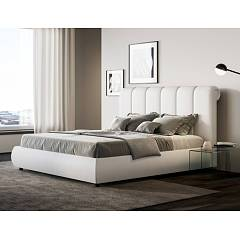 Itamoby Arabella Double bed with container - removable bed frame - with | without mattress
