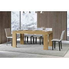 Itamoby Roxell 160 Allungabile A 420 Table extensible l. 160 x 90 effet bois