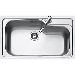Jollynox 1im9060k Built-in sink cm. 86 x 50 - inox 1 bowl Megan