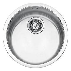 Jollynox 1is435ri/3 Round recessed sink diameter cm. 43.5 h 18.5 - stainless steel Pozzetto