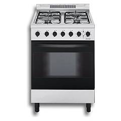 Jollynox 1ca60m7i Support kitchen cm. 60 x 60 - stainless multi-oven oven - 4 gas