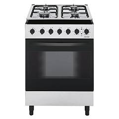 Jollynox 1cc60m7i Support kitchen cm. 60 x 60 - stainless multi-oven oven - 4 gas