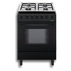Jollynox 1cc60m7n Support kitchen cm. 60 x 60 - black multi-oven oven - 4 gas