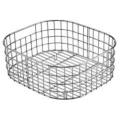 Jollynox 1crei Basket - polished stainless steel for bath 34 x 39