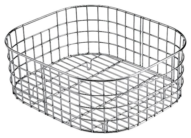Basket - polished stainless steel for tank 34 x 39
