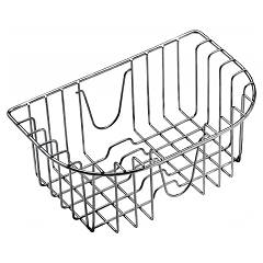 Jollynox 1creim Shiny stainless steel basket for tub 34 x 39 and megan in stainless steel 86 x 50