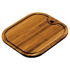 Jollynox 1tre Iroko rectangular chopping board for tub 34 x 39