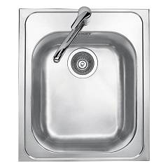 Jollynox 1i45.91k Built-in sink cm. 43.5 x 50 - inox 1 bowl Vega