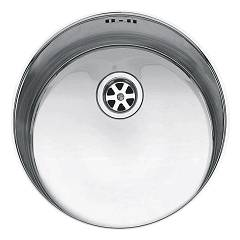 Jollynox 1is335ri Round recessed sink diameter cm. 33.5 h 18.5 - stainless steel Pozzetto