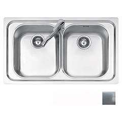 Jollynox 1d90/2.91k Built-in sink 86x50 cm - dekor 2 tanks Vega