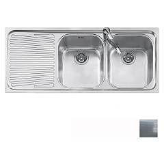 Jollynox 1d120/2.91sk Built-in sink 116x50 cm - dekor 2 tanks + left dropped Vega