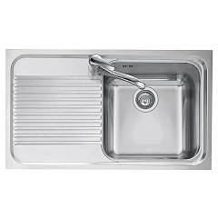 Jollynox 1io90/1sk Built-in sink 86x50 cm - inox 1 bathtub + left dropped Omnia