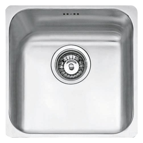 Jollynox 1-bowl undermount sink 1I3030S - 33 x 33 - stainless steel - front