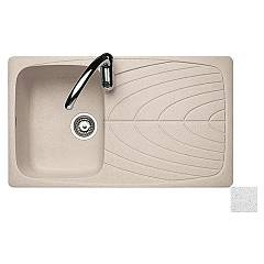 Jollynox 1igv9060/1.e Built-in sink 86x50 cm - smooth granite 1 bathtub + drainer J-granito
