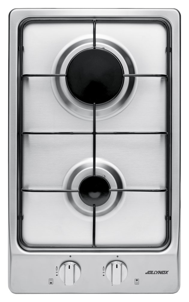 Jollynox gas hob 1PVG2 cm. 30 - stainless steel - front