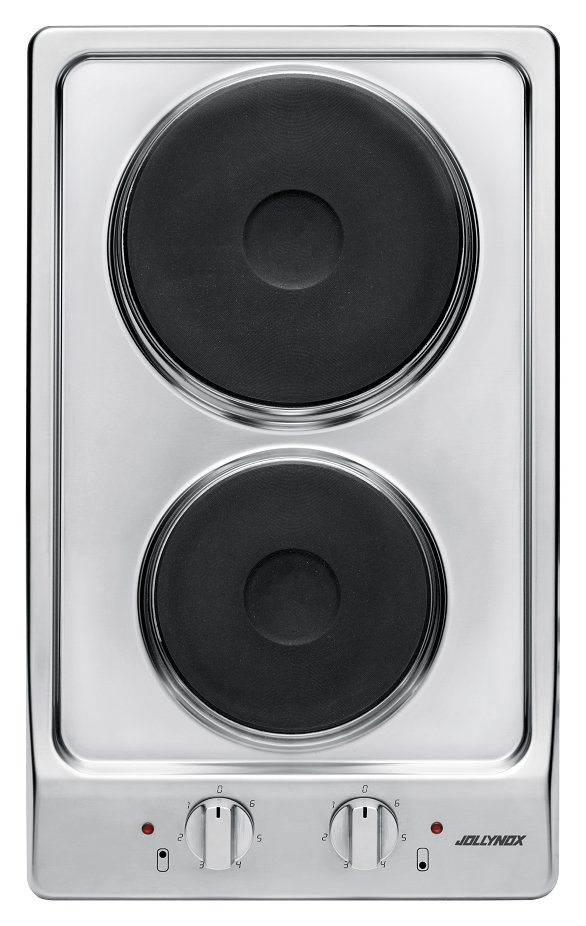 Jollynox electric hob 1PVG2E cm. 30 - stainless steel - front