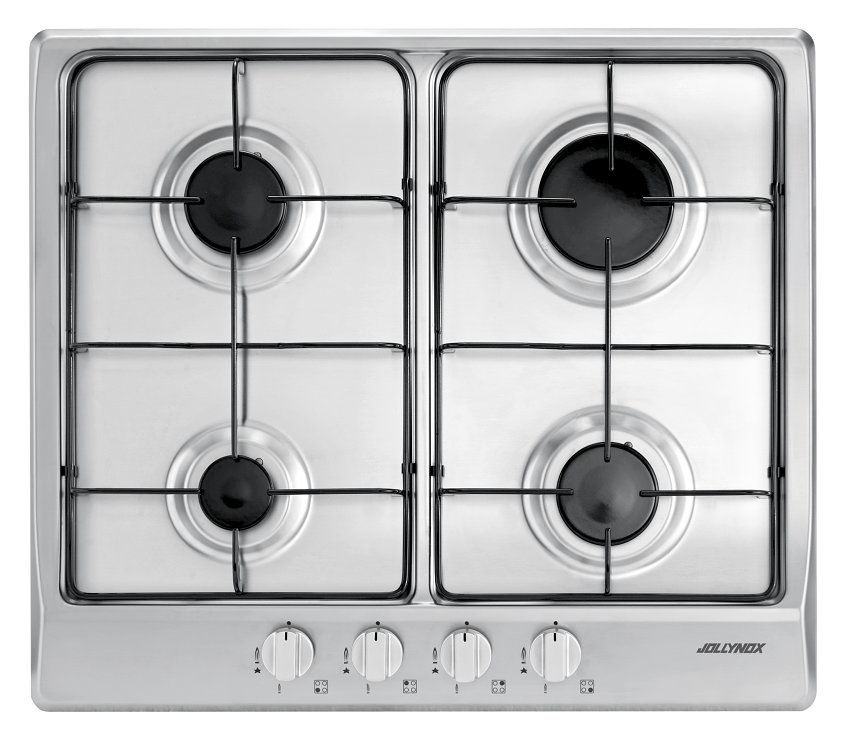 Jollynox gas hob 1PVG64 cm. 58 - stainless steel - front