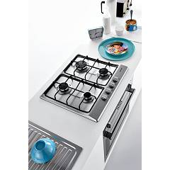 Jollynox gas hob 1PVG64 cm. 58 - stainless steel - side environment