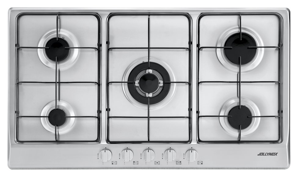Jollynox gas hob 1PVG95 cm. 86 - stainless steel - front