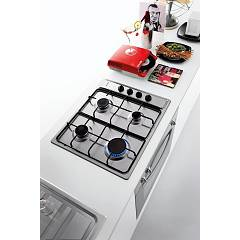 Jollynox gas hob 1PLF64 cm. 58 - stainless steel - environment