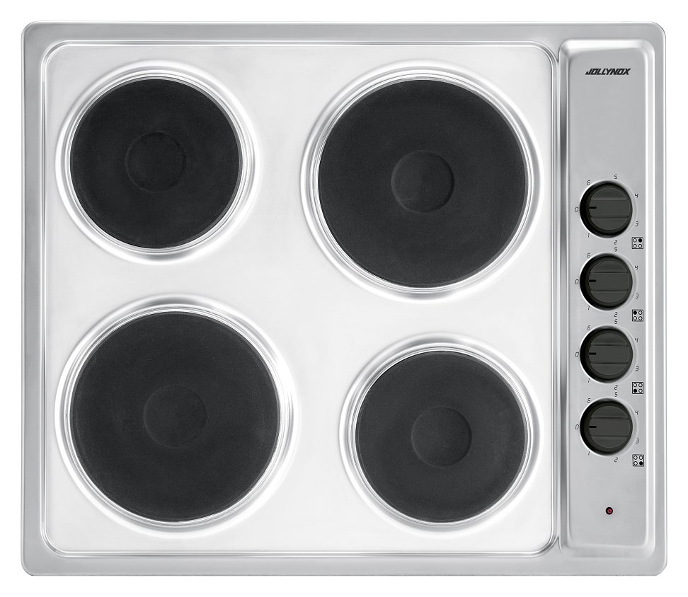 Electric gas hob Jollynox 1PLF64E cm. 58 - stainless steel - front