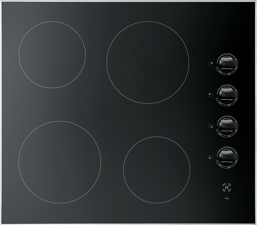 Jollynox induction hob 1PVTM6 cm. 58 - black ceramic glass - front