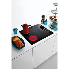 Jollynox induction hob 1PVTM6 cm. 58 - black ceramic glass - ambient