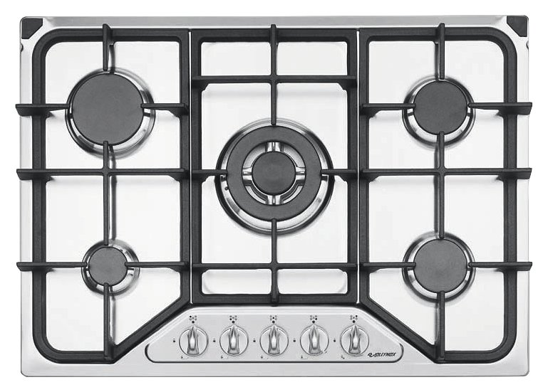 Jollynox gas hob 1PI411 / 70GVE cm. 70 - stainless steel - front