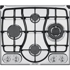 Jollynox 1pi311omgve Built-in hob 60 cm - stainless cast iron grids Omnia