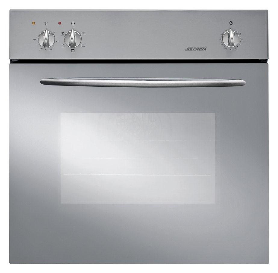 Jollynox gas oven 1FLFGI cm. 59 - stainless steel - front
