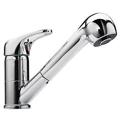 Jollynox 1rubmd Kitchen mixer with shower - chrome