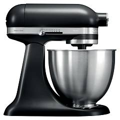 sale Kitchenaid Iksm3311bm Mini Artisan Kitchen Aid 3.3-lt - Matt-black - Warranty 5 Years