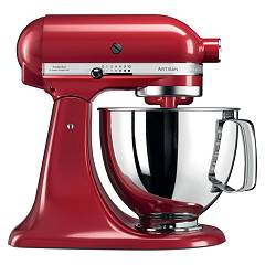 Kitchenaid Iksm125er Planetary artisan 4.8 lt - imperial red - warranty 5 years Artisan