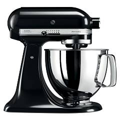 sale Kitchenaid Iksm125ob Planetary Artisan 4.8 Lt - Black Onyx - Warranty 5 Years