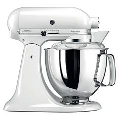sale Kitchenaid Iksm175pwh Planetary Artisan 4.8 Lt - White - Warranty 5 Years